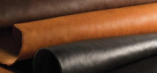 Assorted cow leather