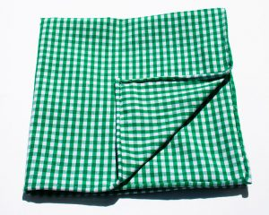 Cotton gingham. Source: Wikimedia Commons.
