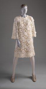 Cotton lace dress, 1969. Source: LA County Museum of Art.