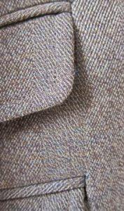 Covert cloth coat, up close. Source: gentlemansgazette.com