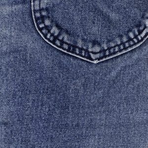 Denim blue jeans. Source: Wikimedia Commons.