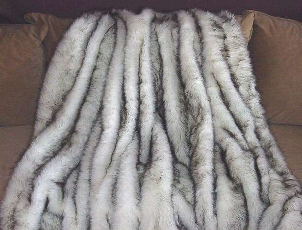 Long Faux Fur Fabric By The Yard