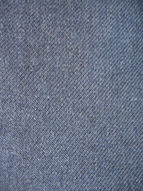Gabardine, up close. Note the twill weave. Source: Wikimedia Commons.
