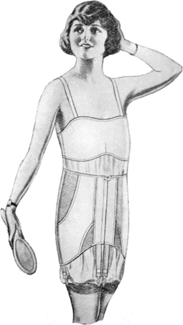 1920s girdle. Source: Wikimedia Commons