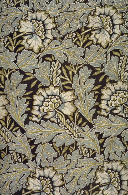 William Morris jacquard from 1876. Source: Wikimedia Commons.