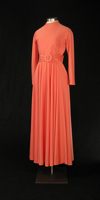 Jersey dress which once belonged to Betty Ford. Source: Wikimedia Commons.