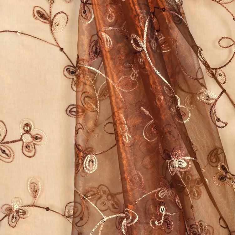 Embroidered organza. Source: onlinefabricstore.net
