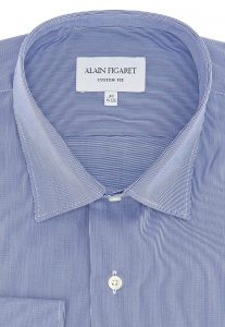 Men's shirt made with 100% cotton ottoman fabric. Source: figaret.com