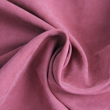 Poly-nylon peachskin. Source: Shuzou Timing Textiles.