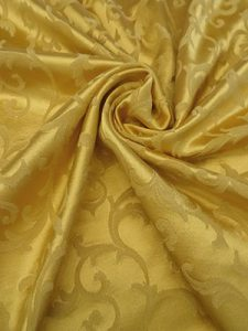 Polyester damask. Source: fabricmartfabrics.com