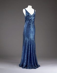 Sequined dress by Chanel, 1932. Source: V&A