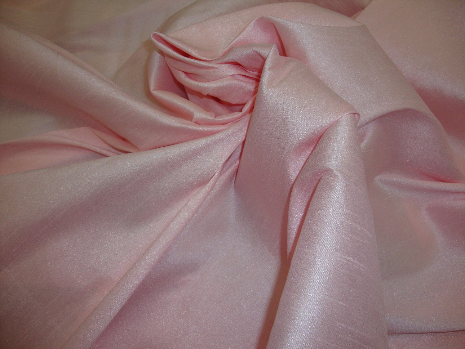 Silk shantung. Source: Etsy