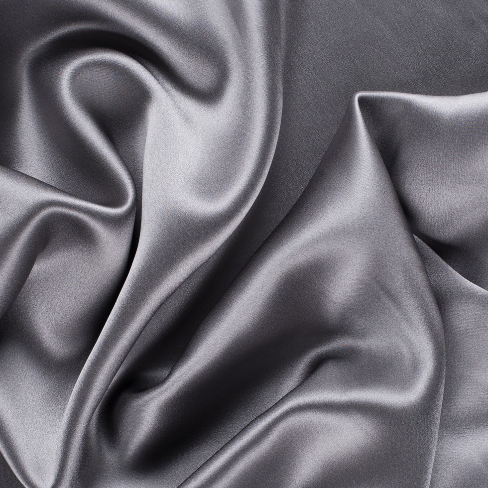 Silk charmeuse. Source: Moodfabrics.com