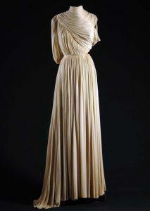 Silk jersey dress, 1945. Source: Flickr CC