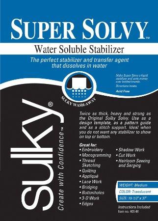 Solvy - one of several varieties.