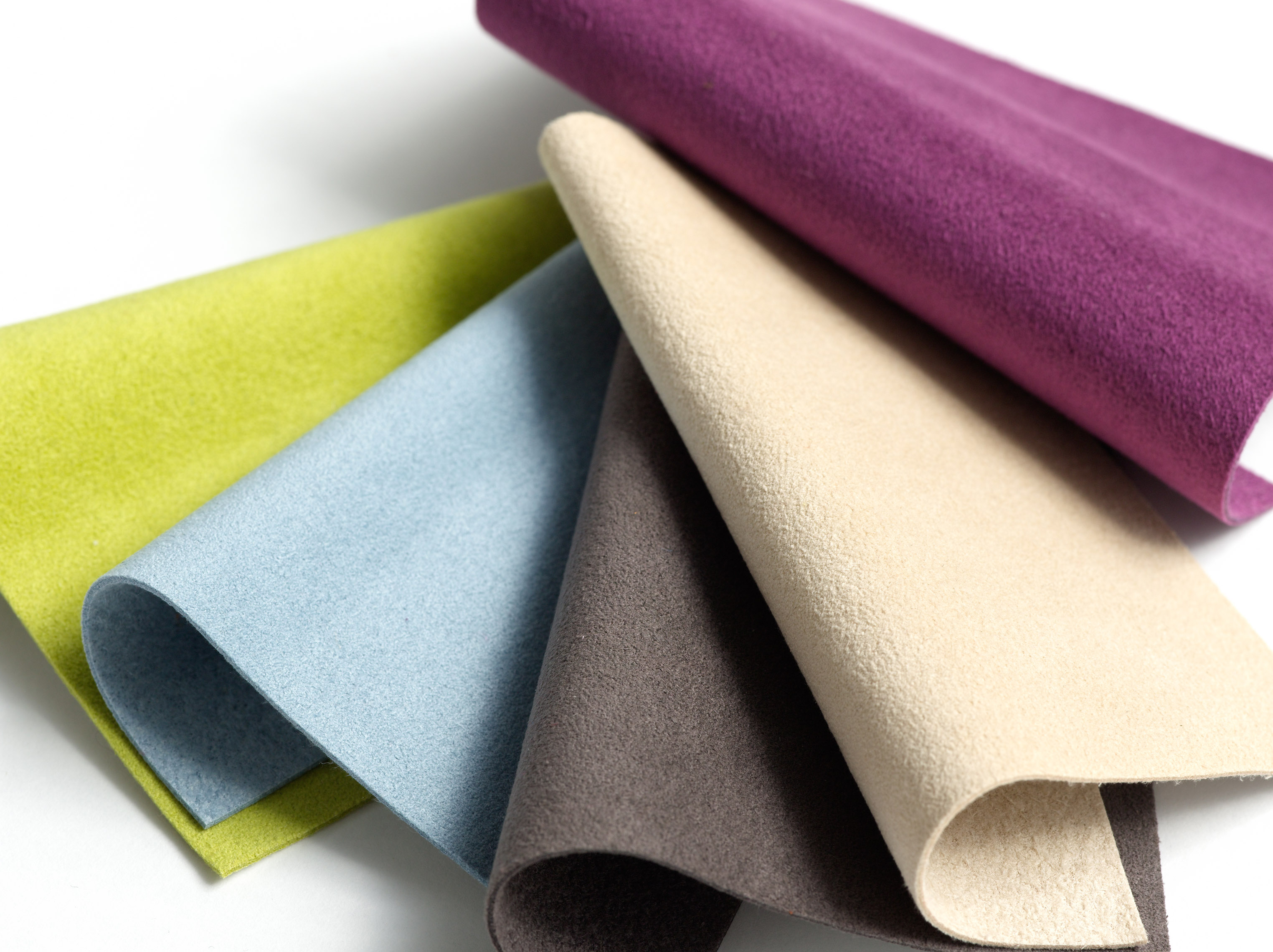Ultra suede samples. Source: knoll.com