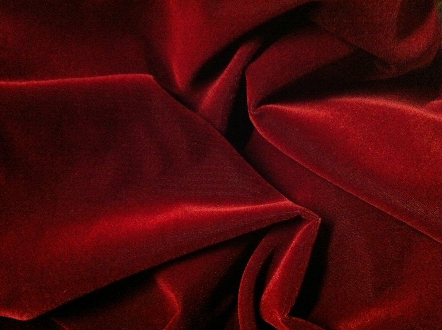 Polyester velvet. Source: Amazon.