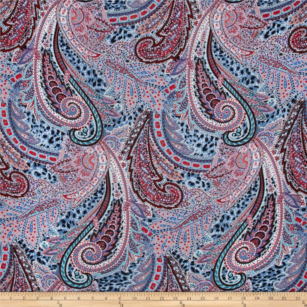 Printed rayon voile. Source: fabric.com