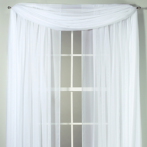 Voile window treatment. Source: BedBathandBeyond.com