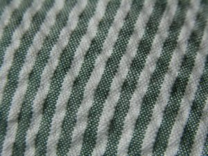Up-close view of seersucker fabric. Source: Wikimedia